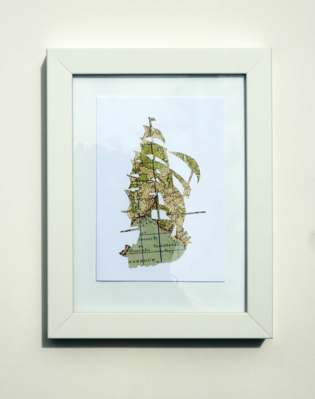ELLA QUAINT bigship framed